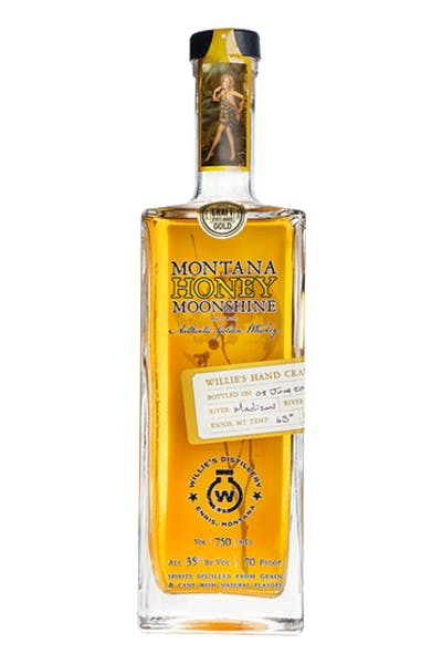 Willie's Montana Honey Moonshine