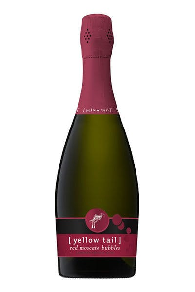 Yellow Tail Red Moscato Bubbles