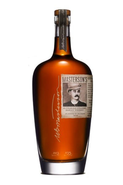 Masterson's 10 Year Straight Barley Whiskey
