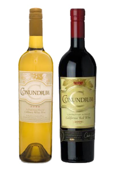 Conundrum White and Red 2 Pack