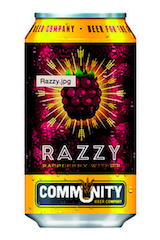 Community Brewing Company Razzy Raspberry Witbier