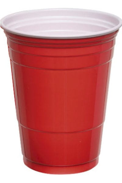 Red Plastic Beer Cups