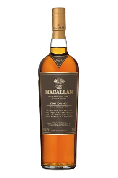 The Macallan Highland Single Malt Edition No. 1