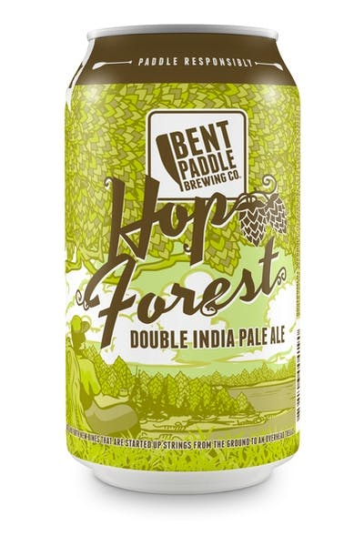 Bent Paddle Hop Forest Double IPA