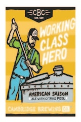 Cambridge Brewing Company Working Class Hero