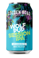 Golden Road Wolf Pup Session
