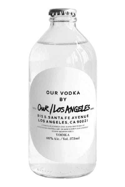 Our Los Angeles Vodka