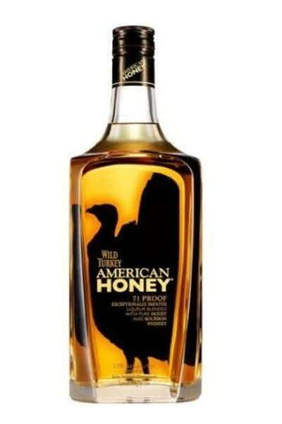 Wild turkey american honey gift set drizly for Honey whiskey drink recipes