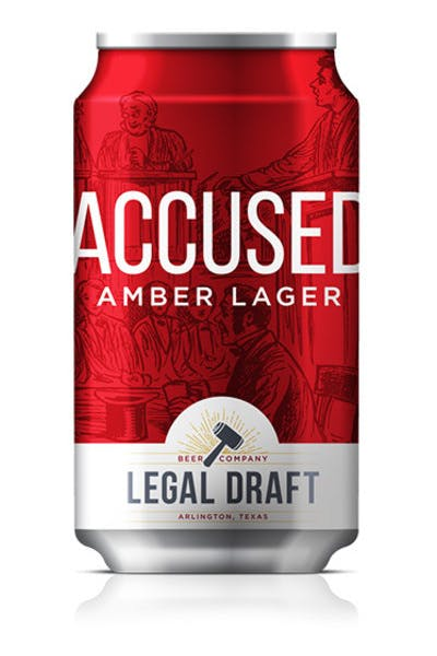 Legal Draft Accused Amber Lager
