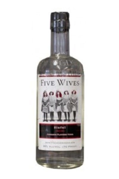 Five Wives Sinful Vodka
