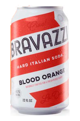 Bravazzi Hard Italian Soda Blood Orange