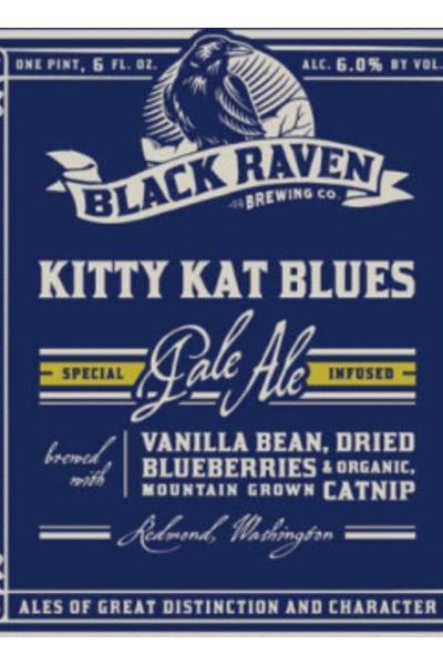 Black Raven Kitty Kat Blues Pale Ale