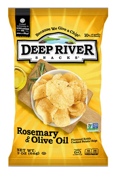 Deep River Rosemary & Olive Oil Chips