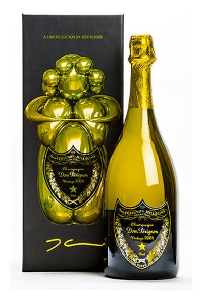Dom Perignon Vintage 2004 Jeff Koons Limited Edition