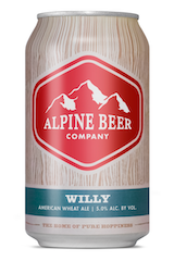 Alpine Willy American Wheat Ale