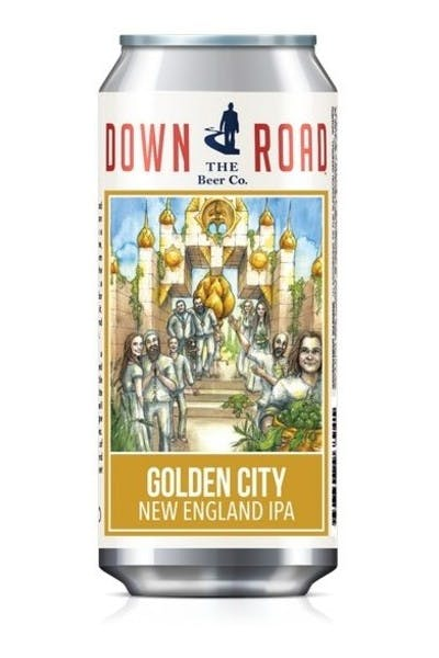 Down The Road Golden City New England IPA