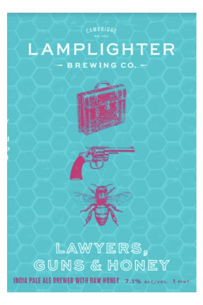 Lamplighter Lawyers, Guns, and Honey IPA