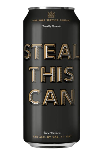 Lord Hobo Steal This Can