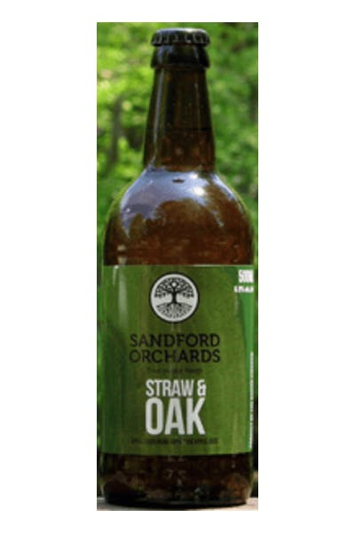 Sandford Orchards Straw and Oak