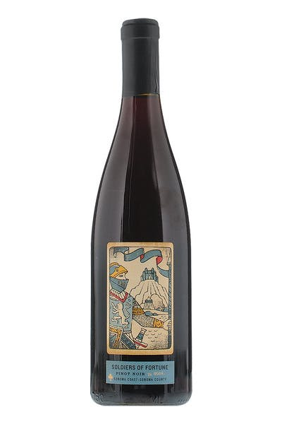 Soldiers Of Fortune Pinot Noir Sonoma Coast