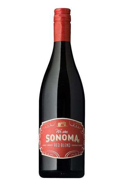 We Are Sonoma Red Blend