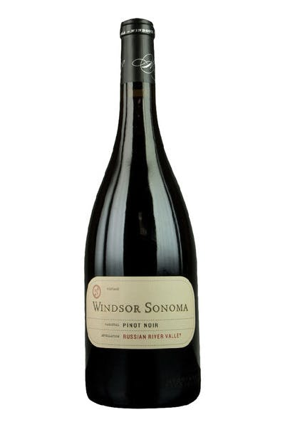 Windsor Sonoma Pinot Noir Russian River Valley